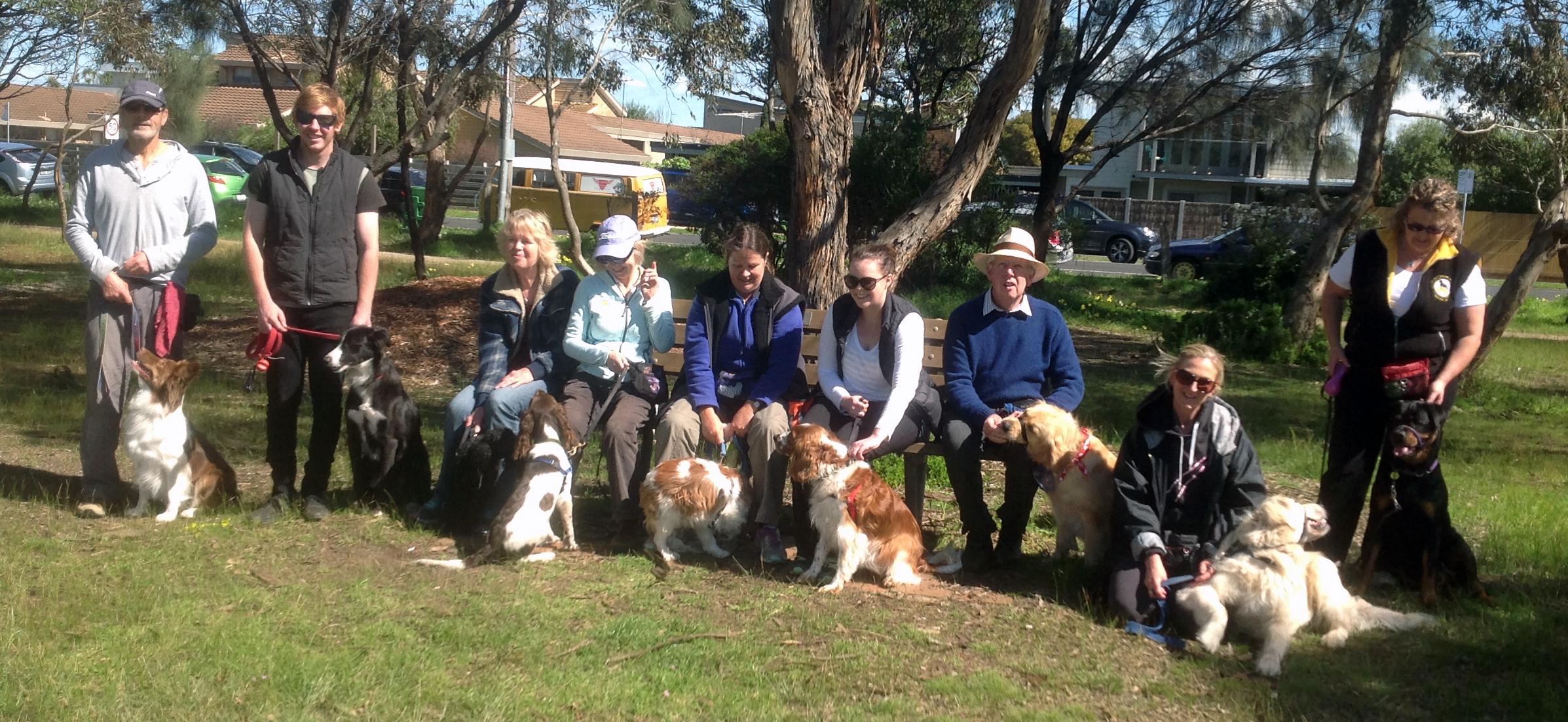 BDAG Geelong Canine Citizen graduates, September 2016